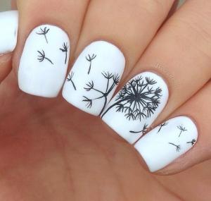 Dandelion-Nails
